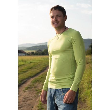 Pánské funkční triko s dlouhým rukávem